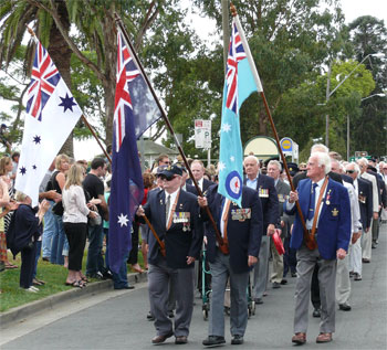 Anzac Day at Woodburn